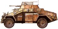 World War 2 Equipment - German SdKfz 222