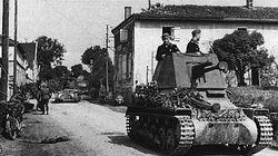 A 4.7cm PAK gun mounted on a Pzkpfw I chassis.
